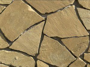 Песчаник карпатский желто-серый природный