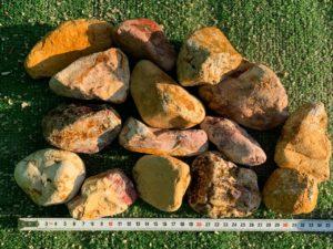 Галька Перлит (Бело-желтая)