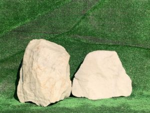 Валун мрамор белый