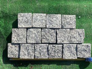 Брусчатка гранитная (покост)10*10*5 спил с 2-х сторон